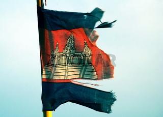 Staatsflagge Kambodscha