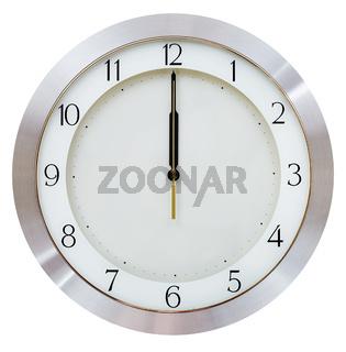 even midnight - twelve o clock