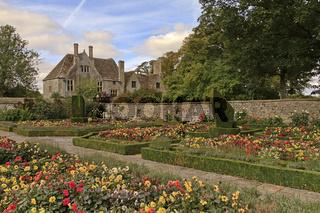 UK Wiltshire Avebury Enclosed Garden