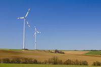 Two wind generators