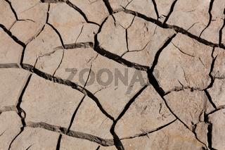 Desertification, Reservoir of Yesa, Zaragoza, Spain