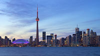 Illuminated Toronto Skyline
