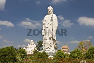 Vinh Trang Pagode, My Tho, Mekongdelta, Vietnam, Südostasien Asien