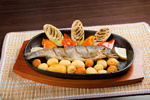 Grilled Trout .japanese cuisine