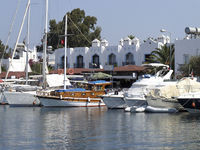 Yalikavak - Marina of Bodrum, Turkey