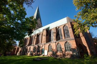 St. Johannis-Kirche am Sande im Lüneburg, Deutschland