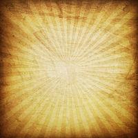 Retro brown sunburst background.