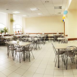 Cafe hall