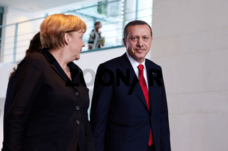 Merkel meets Erdogan in Berlin