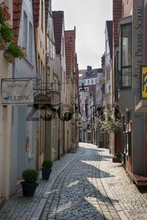 Im Bremer Schnoor-Viertel