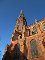 cathedral in Lueneburg, Germany