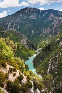 Fluss Verdon