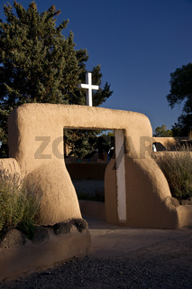 Taos Church at Dawn