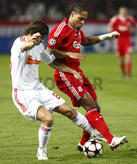Debrecen vs. Liverpool UEFA Champions League group stage football match
