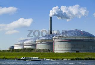 Biogas powerplant