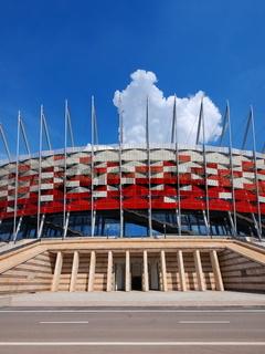 National Stadium in Warsaw, Poland