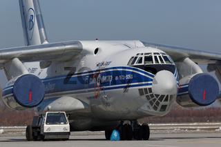 Iljuschin Il-76TD-90WD der Volga-Dnepr Airlines.