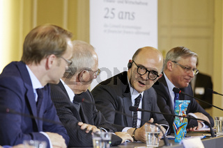 25th anniversary of the Franco-German Financial and Economic Council.