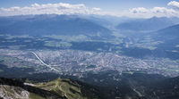 City Innsbruck in Tyrol Austria