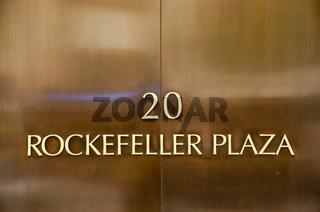 Auktionshaus Christie´s, Rockefeller Plaza, Midtown, Manhattan, New York City, USA