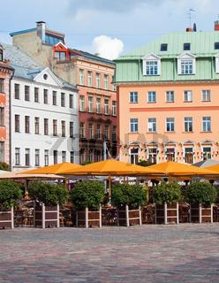 Center of old Riga