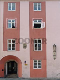 Gebäude am Egerer Marktplatz