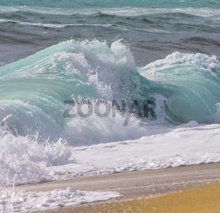 Strand mit Wellen - beach with waves 11