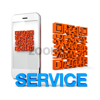 QRcode Mobile Phone Service