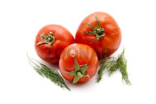Tomaten mit Dill