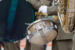 Bass drum on parade