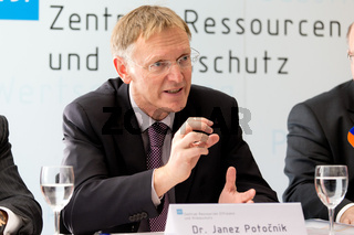 Press conference Altmaier and Potočnik at VDI