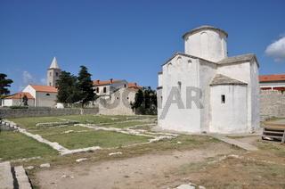 Kathedrale in Nin, Kroatien