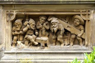 Heinzelmännchenbrunnen in Köln, Deutschland