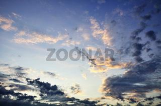Clouded Sky / Wolkenhimmel