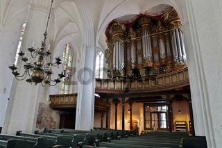 Erasmus Bielfeldt-Orgel in der Kirche St. Wilhadi