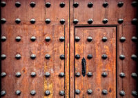Ornamental spanish door