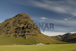 Þorvaldseyri (Thorvaldseyri) - the nearest farm to the Eyjafjallajökull volcano