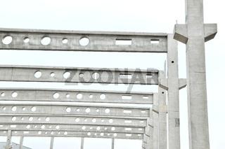 Betonfertigteilen für Hallenbau