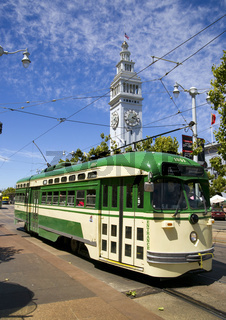 Cable Car at the Ferry Building