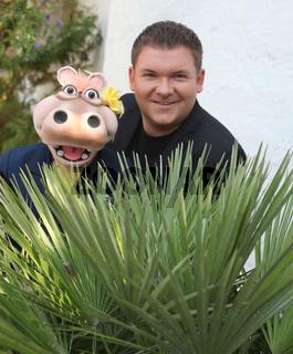 Pierre Ruby mit 'Hippo' bei 'immer wieder sonntags' 07.07.2013 Europapark Rust