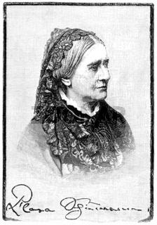 Clara Josephine Schumann, 1819-1896, German pianist and composer