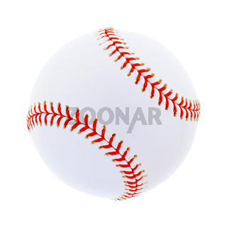 Baseball isoliert auf weiß