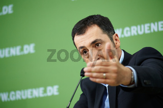 Cem Oezdemir - Green - Party leader -  press conference