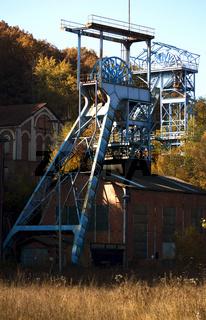 Altes Bergwerk Itzenplitz, Schiffweiler, Saarland, D
