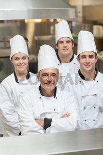 Happy team of Chef's