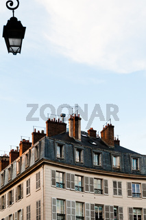 typical house in Paris