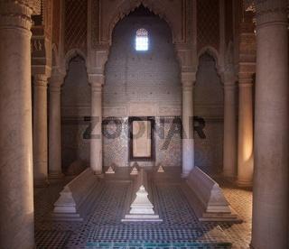 Saadier Gräber bei Marrakesch