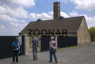 KZ Buchenwald - Vor dem Krematorium