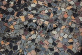 Mosaikboden in einer Therma