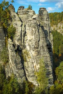 Scenery in Saxon Switzerland
